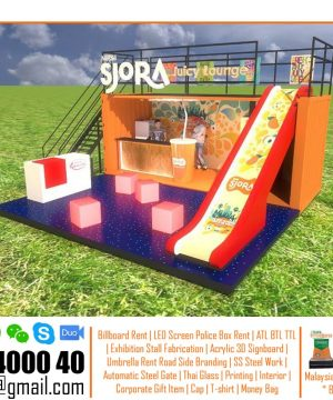 Booth Structure Design