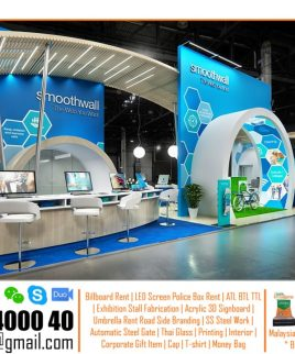 Island Exhibition Stand Design