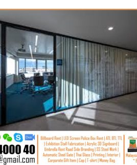 Thai aluminium door